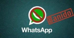 Bloqueio no WhatsApp. 5 atitudes que pode te banir temporariamente.