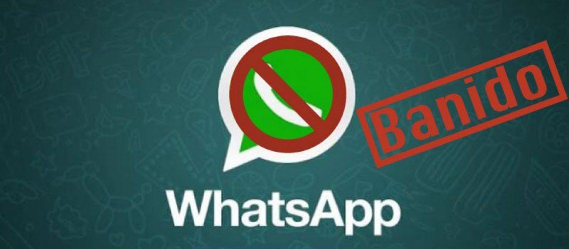 Bloqueio no WhatsApp